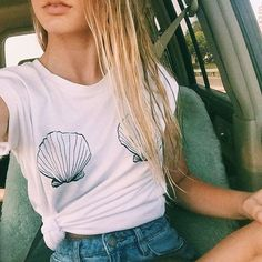 Slouchy Shell Tee - Everything You Need to Be a Real Life Mermaid - Livingly