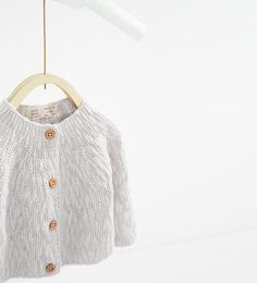 Image 3 of Buttoned cardigan from Zara