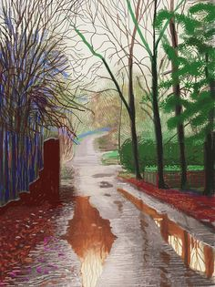 Chance to see David Hockney's iPad doodles: The ...