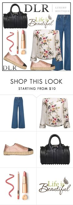 """""""SS18 DLRBOUTIQUE"""" by diamond-mara ❤ liked on Polyvore featuring Solace, Kendall + Kylie, Alexander Wang and Brewster Home Fashions"""