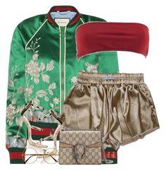 """Gucci Jacket V.2 | VI | IV | XVII"" by kahla-robyn on Polyvore featuring Gucci, Giuseppe Zanotti, Chanel and Retrò"