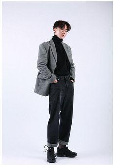 80s Fashion Men, Korean Fashion Trends, Korean Street Fashion, Look Fashion, Fashion Menswear, Korean Male Fashion, Celebrities Fashion, Latex Fashion, Fashion Vintage