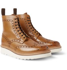 Grenson's 'Fred' brogue boots