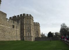 Windsor Castle, the oldest and largest inhabited castle in the world. It is an official residence of Her Majesty The Queen who spends most of her private weekends there.