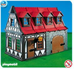 Playmobil 7145: Medieval House with Barn