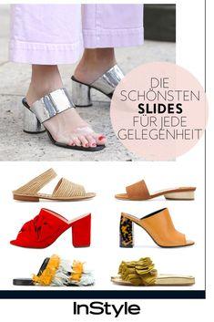 Office, Date und Co.: das sind die schönsten Slides für jede Gelegenheit Cooler Look, Pumps, Office, Espadrilles, Flats, Fur, High, Shoes, Outfits