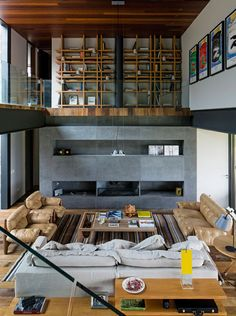 Living Room. Itaipava, Brazil.  Architect: MPG Architecture.