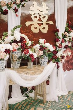 55 __________________________ Derian + Belinda, at Ritz Carlton, Bali – Designmill Co. Chinese Wedding Decor, Oriental Wedding, Wedding Goals, Dream Wedding, Bali, Tea Ceremony, Wedding Designs, Wedding Venues, Wedding Decorations