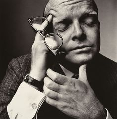 Truman Capote, 1965 by Irving Penn