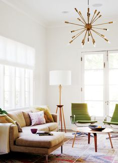 Brass & Gold | Warm Metals Heating Up in Home Decor | The Color & Shape