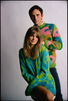 #Sixties | Jean Shrimpton and Terence Stamp photographed by William Helburn for Ladies' Home Journal, 1967