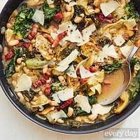 escarole white bean skillet with bacon artichokes escarole white bean ...