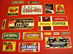 A few of our childhood fave. sweets...