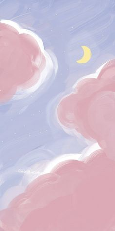 #art #by是HOKI呀 #background #iphone Cute Pastel Wallpaper, Soft Wallpaper, Anime Scenery Wallpaper, Cute Patterns Wallpaper, Iphone Background Wallpaper, Kawaii Wallpaper, Aesthetic Iphone Wallpaper, Galaxy Wallpaper, Cartoon Wallpaper