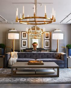 RH, Restoration Hardware Opens Massive, Glittering New Gallery in New York City Restoration Hardware Living Room, Restoration Hardware Lighting, Bedroom Furniture Sets, Furniture Design, Bedroom Sets, Chair Design, Design Design, Modern Furniture, Living Room Designs