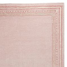 Petal Scribble Border Rug #serenaandlily - for girls bedroom