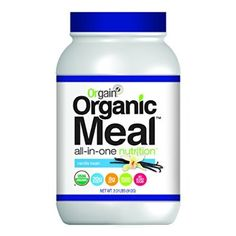 Orgain Organic Meal All-in-One Nutrition, Vanilla Bean, 2.01 Pound