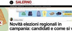 LE TANTE OPPORTUNITA' DAL WEB: Elezioni regionali 2015 in Campania: tutte le info...