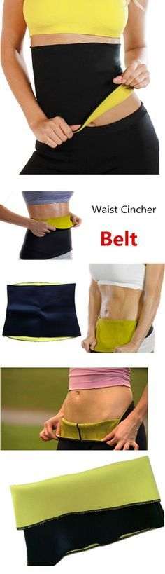ead89ac7c0fcf Hot Shapers Body Shaping Belt Slimming Waist Shaper Firm Control Girdles  Trainer Waist Training