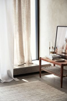 Linen Curtain Panels - Beige - Home All Linen Curtains, Living Room Trends, Curtains, Panel Curtains, Interior, White Paneling, Linen Curtain Panels, Scandinavian Interior, Linen Curtains Living Room