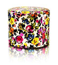 #Pufa #Roller cała w #kwiaty!