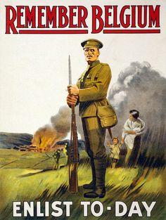 world+war+i+posters | World War I, Recruitment Poster Poster Photograph - World War I ...