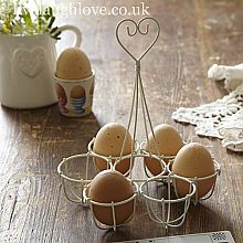Heart Top Egg Holder