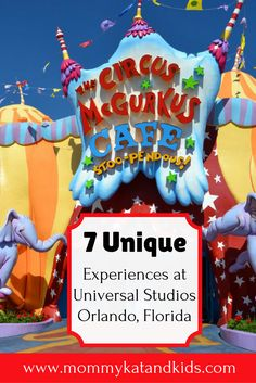 Universal Studios in Orlando has so many incredible experiences to enjoy while visiting the park. We've narrowed it down to 7 unique experiences in Universal Orlando Resort that you DO NOT want to miss. If you're planning a visit to Universal Studios in Orlando Florida, make sure you read this first and save it to your travel board.