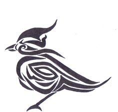 Tribal Bird Tattoo Designs | Original tribal bird tattoo by ~Tribiany on deviantART