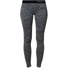 Nike Performance PRO LIMITLESS Tights dark grey... (1.450 UYU) ❤ liked on Polyvore featuring plus size women's fashion, plus size clothing, plus size activewear, plus size activewear pants, pants, bottoms, leggings, sport, anthracite and nike sportswear