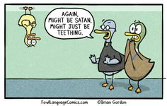 Source Comic ~ laughed way harder than i should have Funny Babies, Funny Kids, Funny Cute, Hilarious, Parenting Memes, Kids And Parenting, Toddler Meme, Fowl Language Comics, The Awkward Yeti