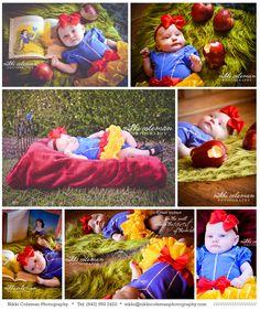 Halloween Mini Session part 2 | Nikki Coleman Photography/ Snow White Newborn/