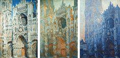 Monet, série de la cathédrale de Rouen, 1er série au musée d'orsay