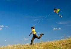 Fly a kite.  Google Image Result for http://socalchrishtain.files.wordpress.com/2012/05/kite-flying-1.jpeg