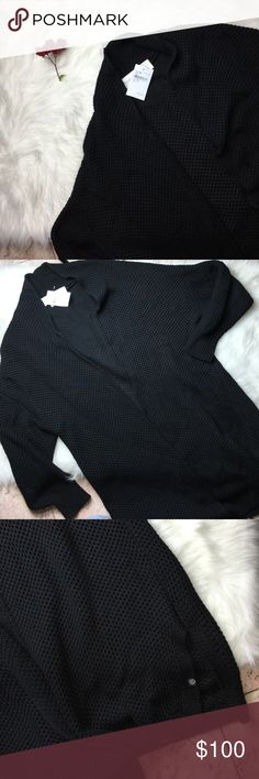 """TREASURE & BOND BLCK BEAUTIFL THICK KNIT CARDIGAN Super cute and brand new!  Want to save more?  Bundle and save on shipping! Measurements:  Length: 34.5""""  Underarms: 21.5""""  Inseam:  Waist:  * smoke free home * Reasonable offers only please * All items are recorded in condition listed prior to shipping  * follow me on IG for exclusive sale offers @theposhpassport_ Treasure & Bond Sweaters Cardigans"""