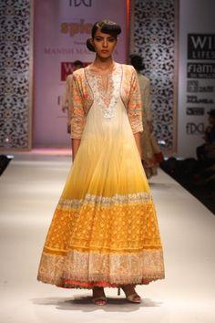 yellow beauty, fashion by Manish Malhotra, my favorite Indian designer