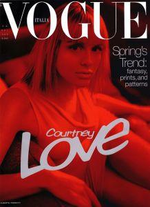 Vogue Italia April 1997 : Courtney Love by Steven Meisel - the Fashion Spot
