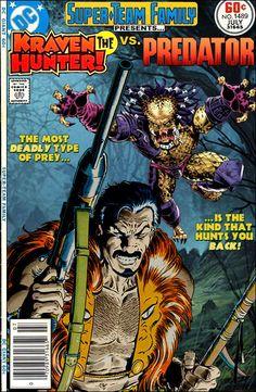 Super-Team Family: The Lost Issues!: Kraven the Hunter Vs. Predator