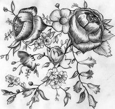 pattern tattoo, tattoo tattoo, nice flower, tattoo pic, tattoo patterns, tattoo design, awesom tattoo, floral designs, floral tattoos