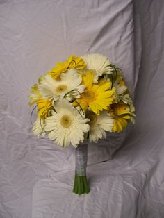 yellow gerbera daisy bouquet - Google Search