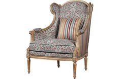 U-RG-4076-1834 Babette Armchair available at French Heritage