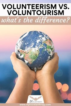Find out the difference between volunteerism and voluntourism and how to make sure your volunteer trip is doing more good than harm. #volunteer #volunteerism #voluntourism #volunteerabroad #mytravelanthropy #travelanthropy | volunteer abroad programs | volunteer overseas | volunteer aboard | voluntourism travel | voluntourism projects | volunteer abroad tips | volunteer tips | how to volunteer abroad Volunteer Overseas, Volunteer Abroad Programs, World Animal Protection, Volunteers Around The World, Animal Experiences, Responsible Travel, Travel Companies, Ways To Travel, Non Profit