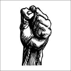 Tattify Fist Temporary Tattoo - Furious Five (Set of 2)