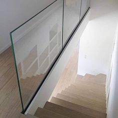 No handrail (8) Frosted Glass, Clear Glass, Channel Glass, Frameless Glass Balustrade, Steel Shoes, Glass And Aluminium, Import From China, Laminated Glass, Modern Stairs