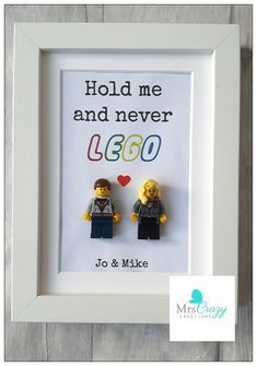 Hold me & never Lego