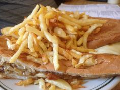 Pan con Bistec from Rio Cristal