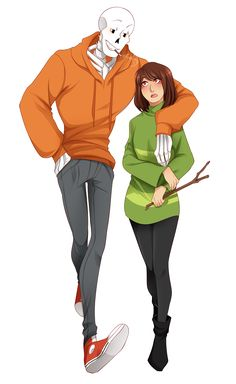 Papara is fucking greAT and its underappreciated and i need more of it now god i really really like US!Papyrus because I'm super biased obviou. Undertale Ships, Undertale Cute, Undertale Fanart, Chara, Underswap Papyrus, Sans X Frisk Comic, Frans Undertale, Undertale Drawings, Funny Videos For Kids