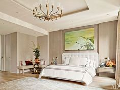 Find home décor inspiration at Architectural Digest. Everything you'll need to design each and every room in your house, from the kitchen to the master suite. Home Decor Bedroom, Master Bedroom, Master Suite, Urban Bedroom, Laura Santos, Greenwich Village, Luxury Interior Design, Contemporary Bedroom, Luxurious Bedrooms
