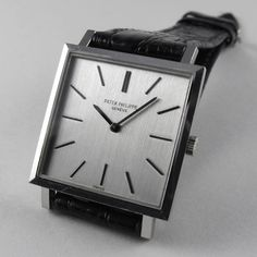 Art Deco Watch, Patek Philippe, White Gold, Clock, Watches, Accessories, Vintage, Clocks, Watch