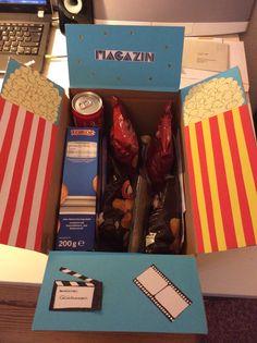 Kino Gutschein box